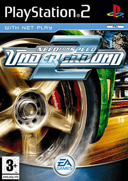 Need for Speed Underground 2 PlayStation 2 Cover Art
