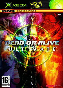 Dead or Alive Ultimate Xbox Cover Art