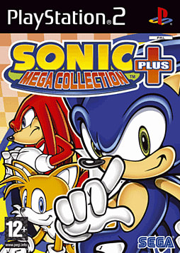 Sonic Mega Collection Plus PlayStation 2 Cover Art