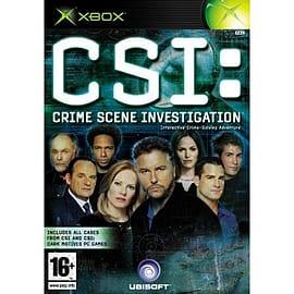 Crime Scene Investigation Xbox