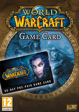 World of Warcraft - 60 Day Pre-paid Game Card Accessories Cover Art