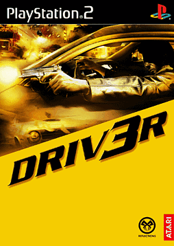 Driv3r - Platinum PlayStation 2 Cover Art
