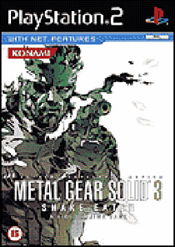 Metal Gear Solid 3: Snake Eater PlayStation 2 Cover Art