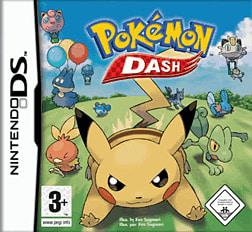 Pokemon Dash DSi and DS Lite Cover Art