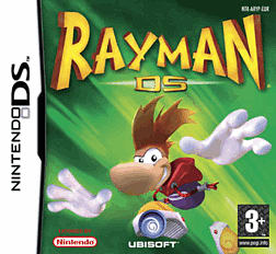 Rayman DS DSi and DS Lite Cover Art