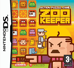 Zoo Keeper DSi and DS Lite Cover Art