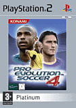 Pro Evolution Soccer 4 Platinum PlayStation 2
