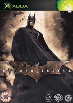 Batman Begins Xbox Cover Art