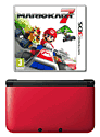 Nintendo 3DS XL Red with Mario Kart 7