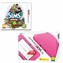 Nintendo 3DS XL Pink with The Sims 3: Pets