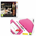 Nintendo 3DS XL Pink with New Style Boutique