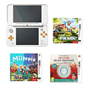 Nintendo 2DS (Red/White) with Pokemon Y and Nintendo 2DS Red Carry Case