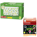 Nintendo 3DS XL Luigi Special Edition with Luigi's Mansion 2: Dark Moon eShop Download
