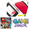Nintendo 3DS XL Red with The LEGO Movie Videogame