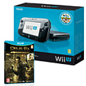 Preowned Black Wii U Premium with Deus New Ex: Human Revolution - Director's Cut
