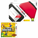 Nintendo 3DS XL Red with New Super Mario Bros 2
