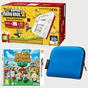 Nintendo 2DS White & Red with New Super Mario Bros 2 Special Edition, Animal Crossing: New Leaf and 2DS Blue Carry Case