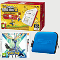 Nintendo 2DS White & Red with New Super Mario Bros 2 Special Edition, Pokemon X and 2DS Blue Carry Case