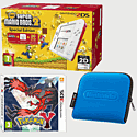 Nintendo 2DS White & Red with New Super Mario Bros 2 Special Edition, Pokemon Y and 2DS Blue Carry Case