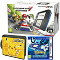 Nintendo 2DS with Mario Kart 7, Pokemon Alpha Sapphire and Pikachu Folio Kit - Only at GAME