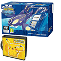 Nintendo 2DS Transparent Blue with Pokemon Alpha Sapphire and Pikachu Folio Kit - Only at GAME