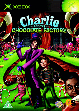 Charlie and the Chocolate Factory Xbox Cover Art