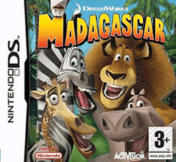 Madagascar DSi and DS Lite Cover Art