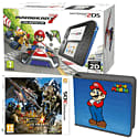 Nintendo 2DS with Mario Kart 7 , Luigi's Mansion 2 and Super Mario Folio Kit - Only at GAME