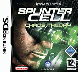 Tom Clancy's Splinter Cell Chaos Theory DSi and DS Lite Cover Art
