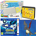 New Nintendo 3DS (White) With Pokémon Alpha Sapphire, Pikachu Folio Kit & Shiny Charizard Download