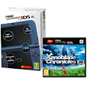 New Nintendo 3DS XL (Metallic Blue) With Xenoblade Chronicles 3D
