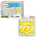 New Nintendo 3DS (White) with Pikachu Cover Plate