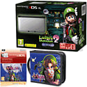 Nintendo 3DS XL with Luigi's Mansion 2, Legend of Zelda Folio Kit and Legend of Zelda Majora's Mask Digital Download