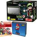 Nintendo 3DS XL with Luigi's Mansion 2, Super Mario Folio Kit and Super Smash Bros Digital Download