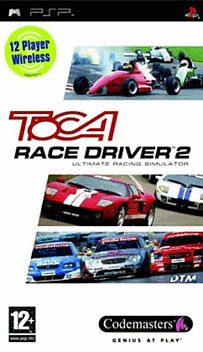 TOCA Race Driver 2 PSP Cover Art