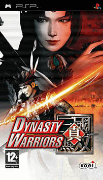 Dynasty Warriors PSP Cover Art