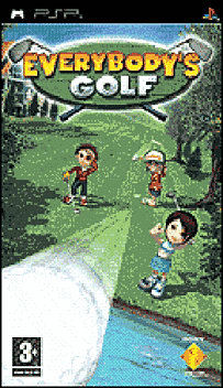 Everbody's Golf PSP Cover Art