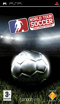 World Tour Soccer: Challenge Edition PSP Cover Art