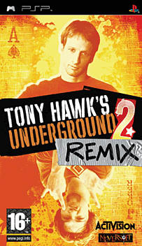 Tony Hawks Underground 2 Remix PSP Cover Art