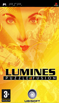 Lumines PSP Cover Art