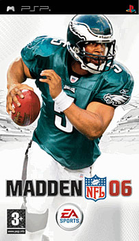 Madden NFL 06 PSP Cover Art
