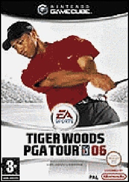 Tiger Woods PGA Tour 2006 GameCube Cover Art