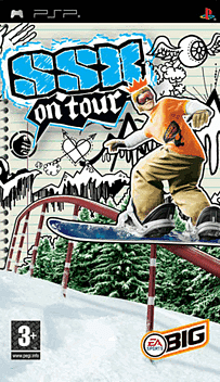 SSX On Tour PSP Cover Art