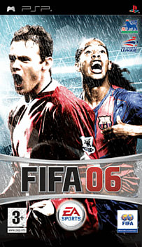 FIFA 06 PSP Cover Art