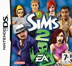 The Sims 2 DSi and DS Lite Cover Art