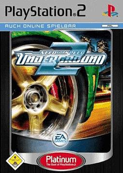 Need For Speed Underground 2 - Platinum PlayStation 2