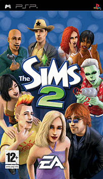 The Sims 2 PSP Cover Art
