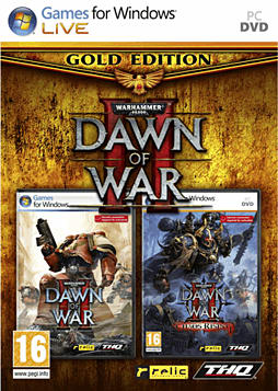 Warhammer 40,000: Dawn of War - Gold Edition PC Games and Downloads Cover Art