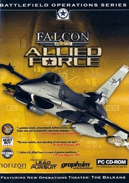 Falcon 4.0: Allied Force PC Games and Downloads Cover Art