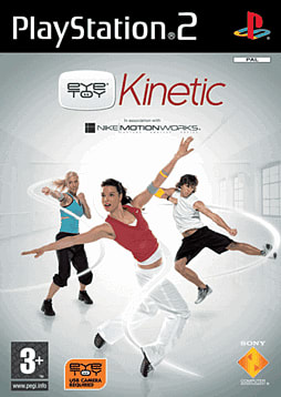 EyeToy: Kinetic PlayStation 2 Cover Art